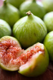 Fresh figs fruit. On table Stock Images