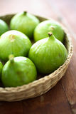 Fresh figs fruit. On table Royalty Free Stock Image