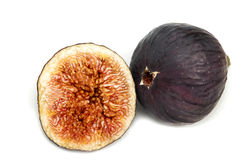 Fresh figs isolated Stock Images