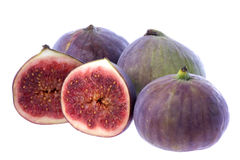 Fresh Figs Isolated Royalty Free Stock Image