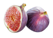 Fresh figs isolated on white Stock Image