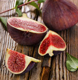 Fresh figs. Selective focus Royalty Free Stock Image