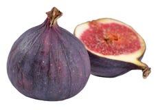 Fresh figs on a white Stock Photos