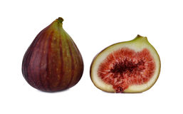 Fresh figs on white Stock Image