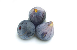 Fresh figs on white background Royalty Free Stock Image