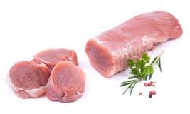 Fillet of pork Stock Image