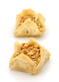 Fresh filo pastries Stock Photo