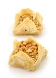 Fresh filo pastries Stock Photo