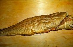 Fresh fish cold smoked cod royalty free stock photo