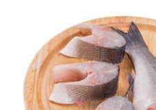 Fresh fish fillets closeup Royalty Free Stock Image