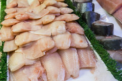 Fresh Fish Fillets Royalty Free Stock Photo