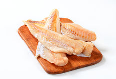 Fresh fish fillets Royalty Free Stock Images