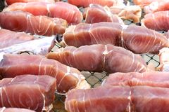 Fresh Fish Meat Stock Image