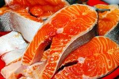 Fresh fish pieces. Royalty Free Stock Photos
