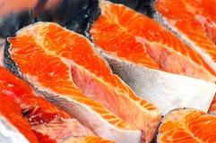 Fresh fish pieces. Royalty Free Stock Photo