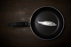 Fresh fish, sea bass. Ready for cooking Stock Photo