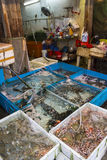 Fresh fish shops Royalty Free Stock Images