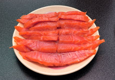 Fresh fish steaks Royalty Free Stock Photo