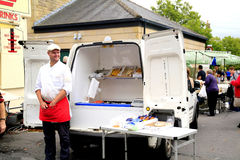 Fresh Fish from the Van. Stock Photography