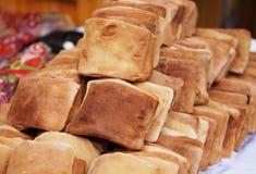 Fresh flat bread Royalty Free Stock Photos