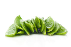 Fresh Flat Green Beans Royalty Free Stock Images