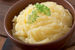 Fresh and flavorful mashed potatoes Stock Images