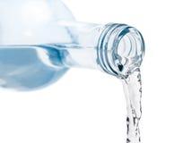 Fresh flow of water bottle Stock Photos