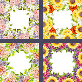 Fresh flower background Royalty Free Stock Images
