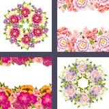 Fresh flower background Stock Photo