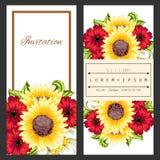 Fresh flower background Stock Photos