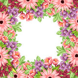 Fresh flower background Stock Photo