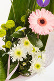 Fresh flower bouquet with gerber Royalty Free Stock Image