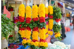 Fresh Flower Garlands Royalty Free Stock Photography