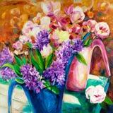 Fresh flowers Stock Image