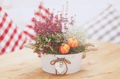 Fresh flowers bouquet Stock Images