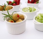 Fresh food Stock Photography