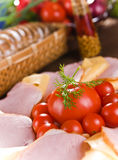 Fresh food Stock Photography