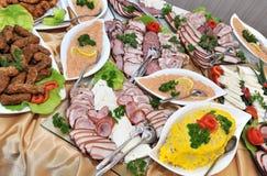 Fresh food aperitif Stock Photography