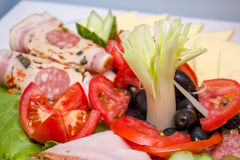Fresh food aperitif Stock Photography