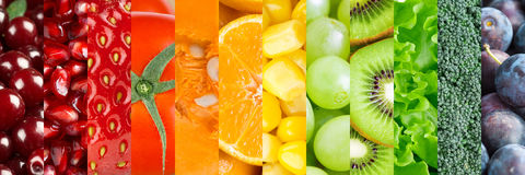 Fresh food background Stock Image