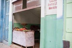 Fresh Food, Havana Cuba Stock Photo