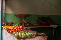 Fresh Food, Havana Cuba. Fresh food at a street market in Havana Cuba Stock Photography