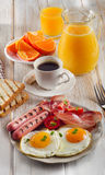 Fresh food  for a healthy breakfast Royalty Free Stock Photo
