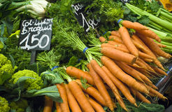 Fresh food market Royalty Free Stock Images