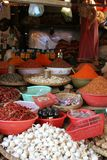 Fresh food markets,. Market stall, Mandalay, Myanmar, Asia Stock Image