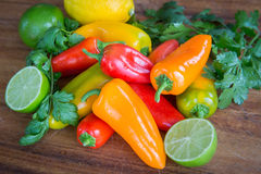 Fresh Food Produce Royalty Free Stock Photos