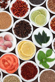 Fresh Food Seasoning Royalty Free Stock Photos