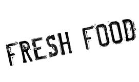 Fresh food stamp rubber grunge Stock Photo