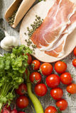 Fresh food on the table Stock Image
