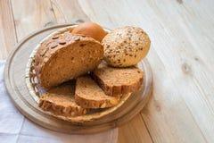 Fresh fragrant bread Stock Image
